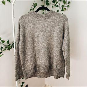 H&M Chunky Grey Sweater